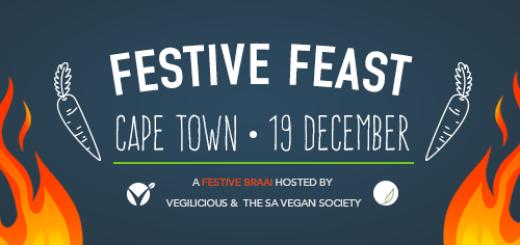 SA Vegan Society & Vegilicious Festive Feast